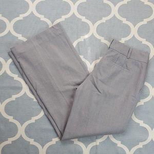Ann Taylor Dress pants career gray Sz 6